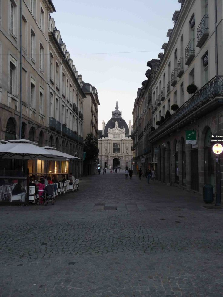 Rennes by night