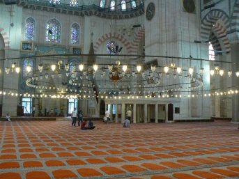 Scene di vita nella Moschea di Solimano