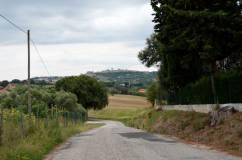 Sulla strada verso Macerata
