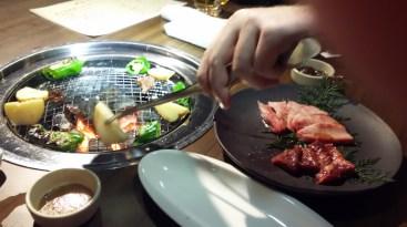 Cena a base di manzo di Ohmi