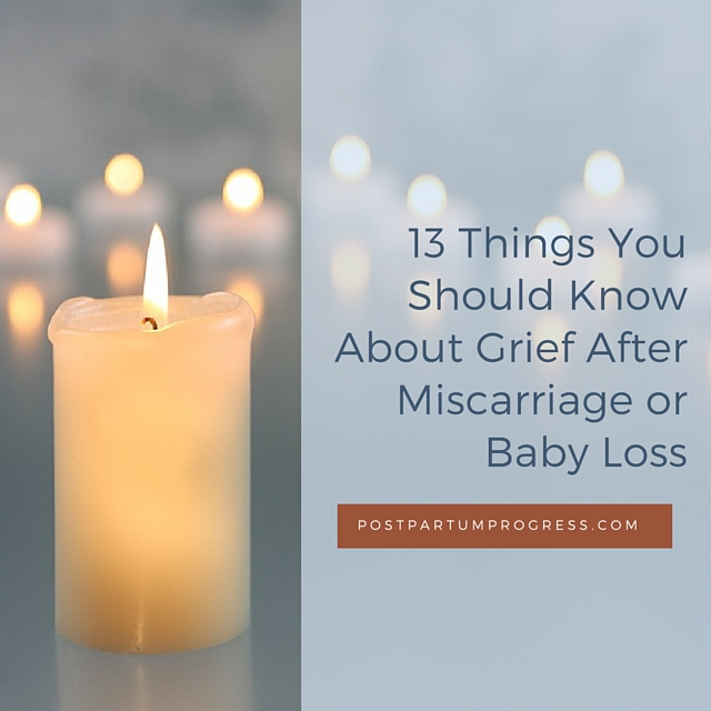 13 Things To Know About Grief After Miscarriage or Loss