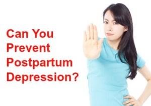 prevent postpartum depression