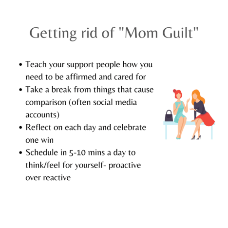 Tips for getting rid of mom guilt