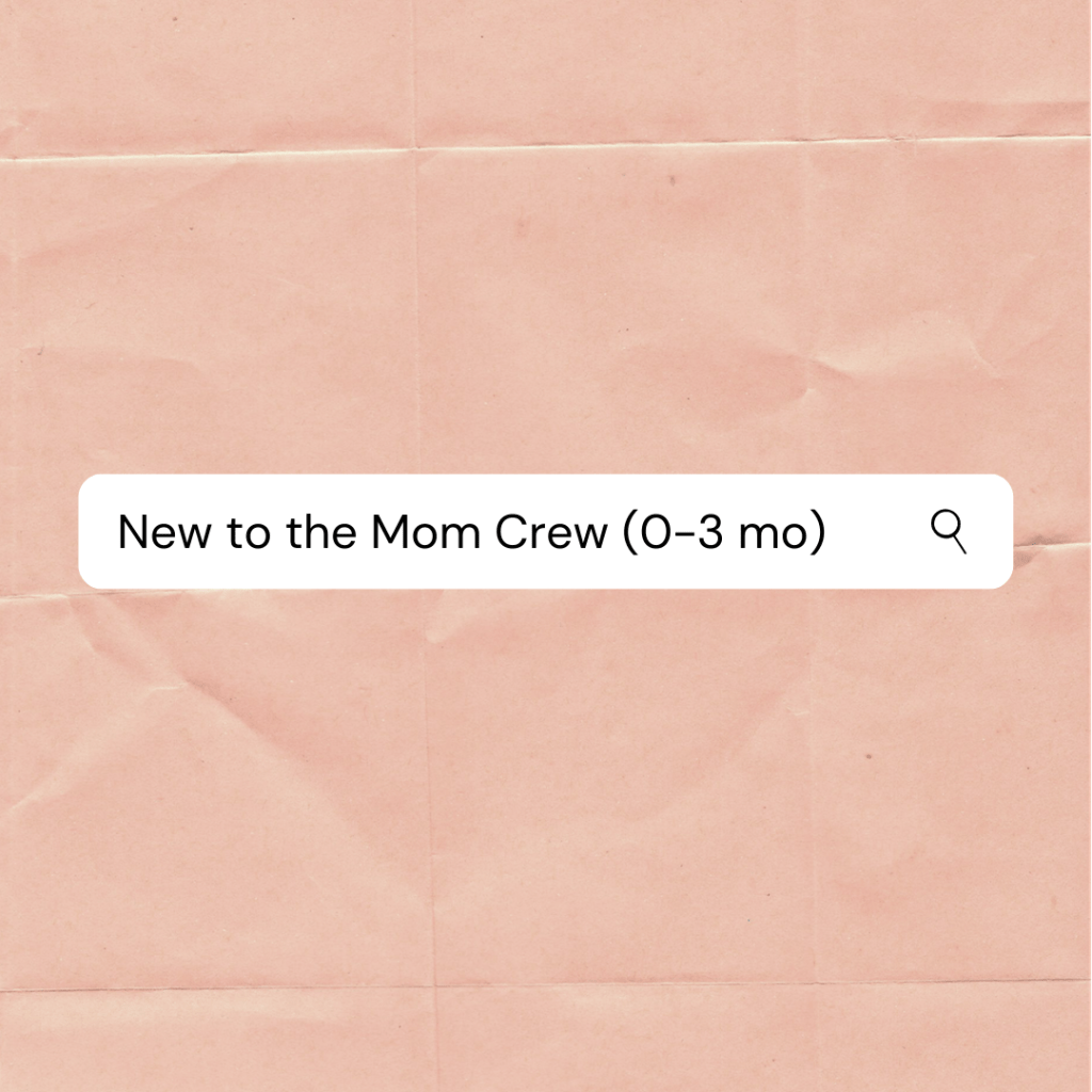 New Mom Groups for the fourth trimester