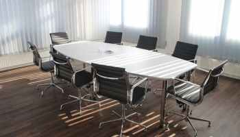 meeting room at workplace