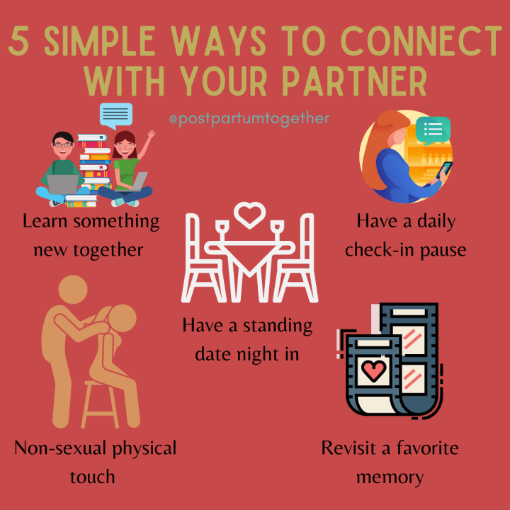 ways to connect with your partner