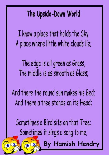Poetry for children that recite