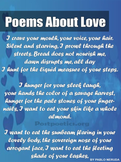 Best Poems About Love