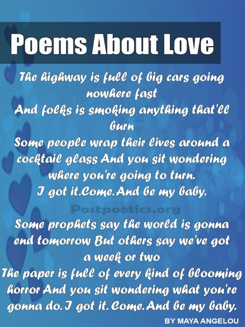 poetry for him