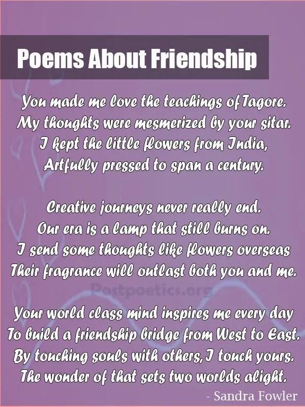 true friendship poems