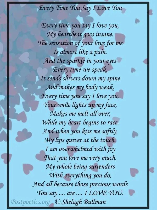 perpose poems for boyfriend