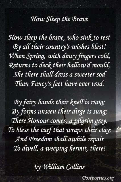 short memorial day poems