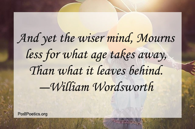 William Wordsworth Quotes on Life
