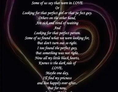 Black love poems