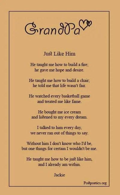 Grandpa Poems