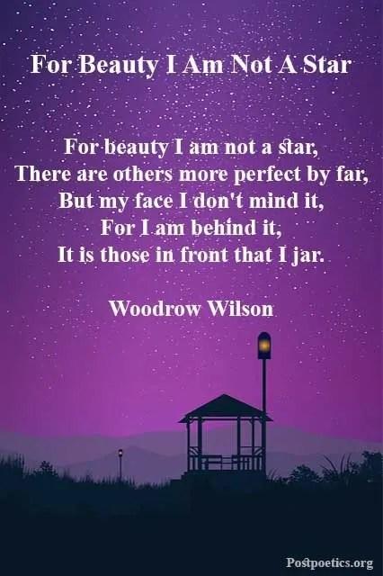Poem about stars love