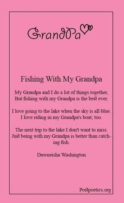 Poems for grandpa