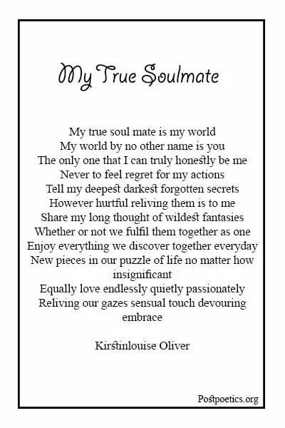 Soulmate Poems
