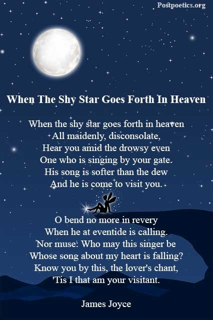poems about stars and space