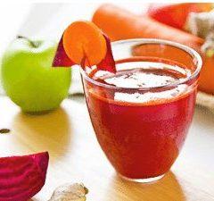 Tonik od cikle, mrkve i jabuke