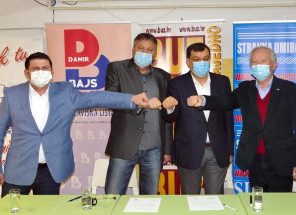 Stranka Damir Bajs Nezavisna lista potpisala . . .