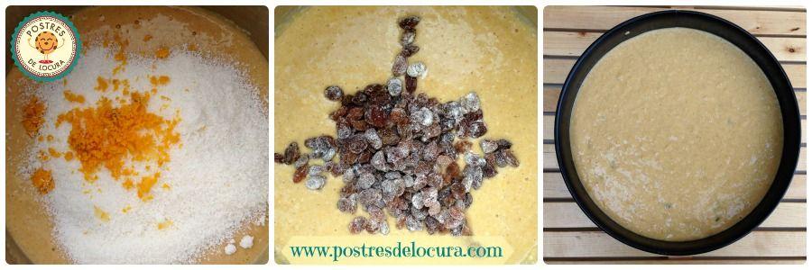elaboracion bizcocho calabaza y coco
