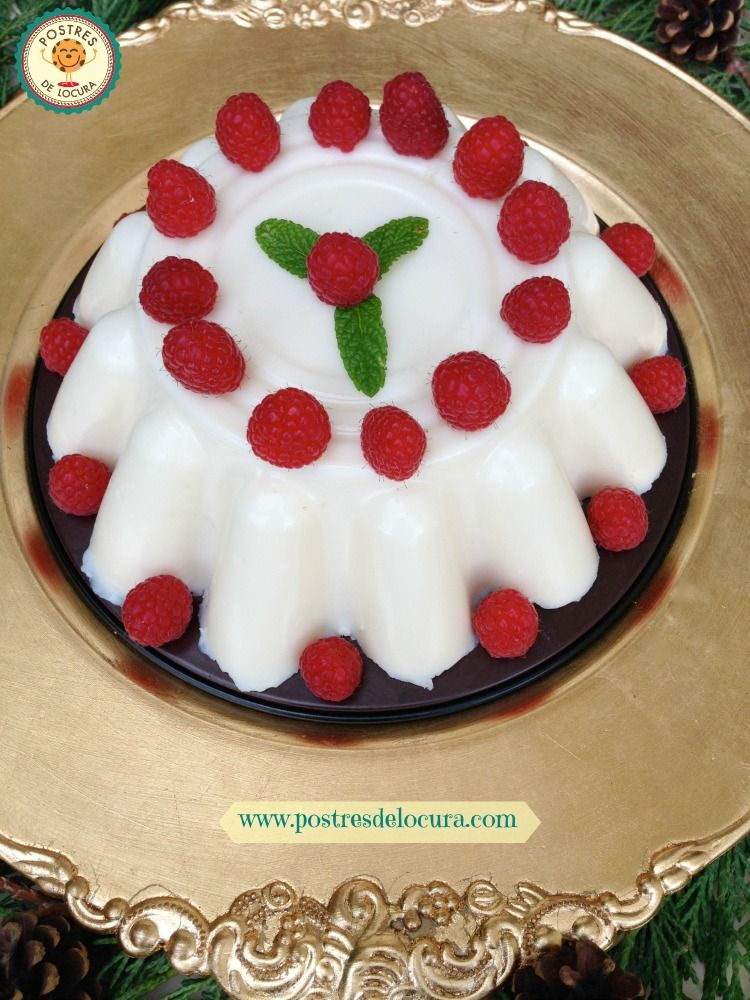 Postre de tres leches decorado