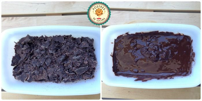 chocolate para bizcocho