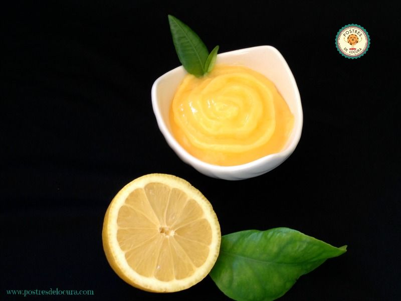 crema de limon casera o lemon curd