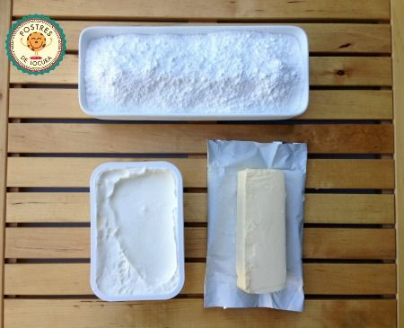 Ingredientes frosting de queso