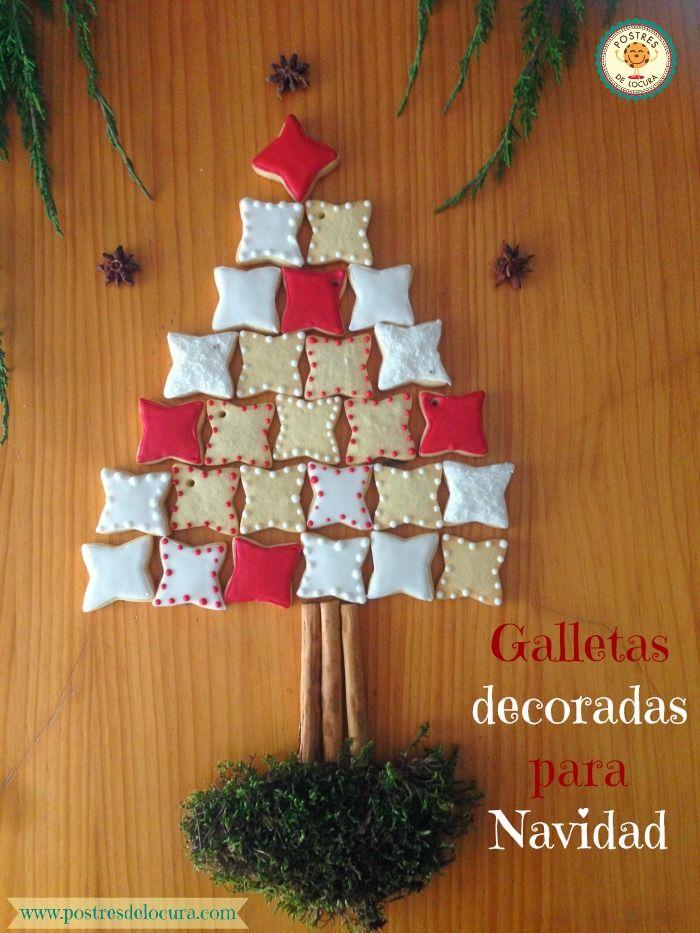 Arbol de galletas de Navidad