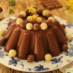 PUDIN CASERO DE CHOCOLATE