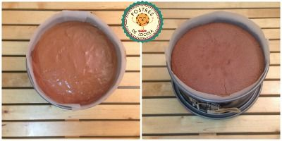 Bizcocho de chocolate sin harina
