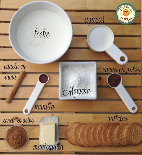 Ingredientes tartaletas faciles (sin horno)