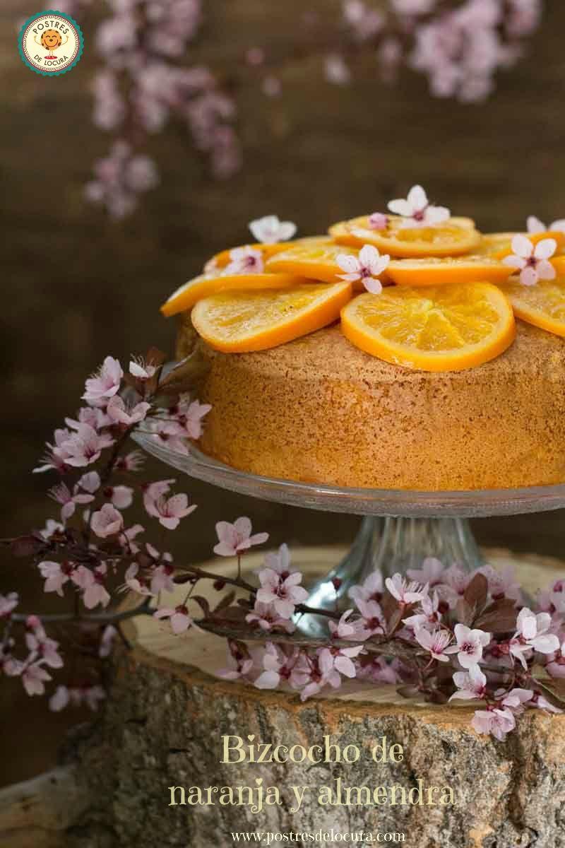 Bizcocho de naranja y almendra