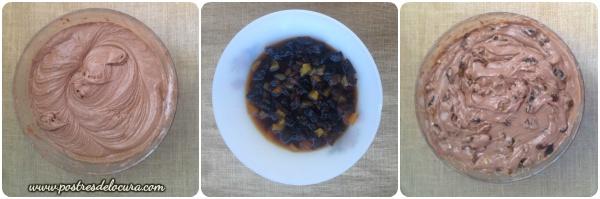 Preparacion bizcocho de Navidad - Torta negra colombiana