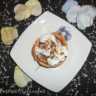 Tarta de Calabaza con Merengue Italiano