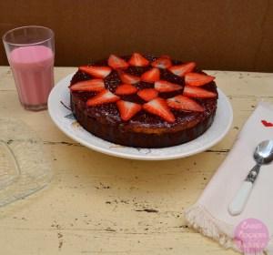 Brownie con Tarta de Queso y Frambuesa - Coakes Cookies and Muffins