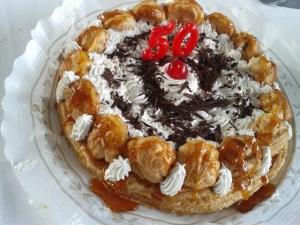 Pastel Saint Honoré - Maite del Riego