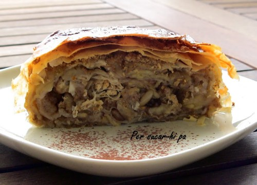 Pasta Filo o Masa Filo - Strudel de Manzana