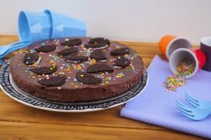 Tarta de Chocolate con Galletas Oreo