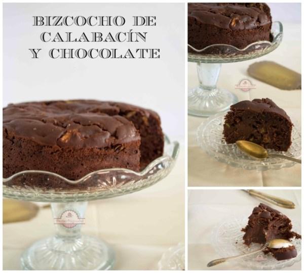 Bizcocho de Calabacín y Chocolate Collage2