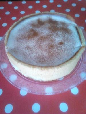 Tarta Mousse de Arroz con Leche - Ana
