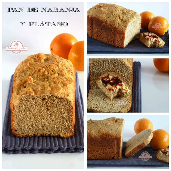 Pan de Naranja y Plátano Collage