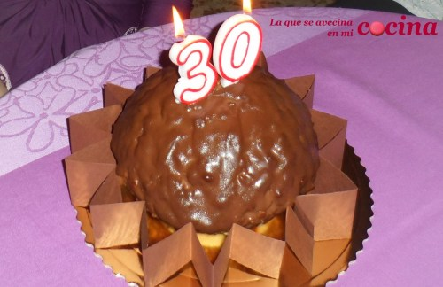 Bombones Ferrero Rocher - Tarta Ana