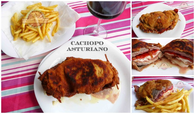 Cachopo Asturiano Collage1