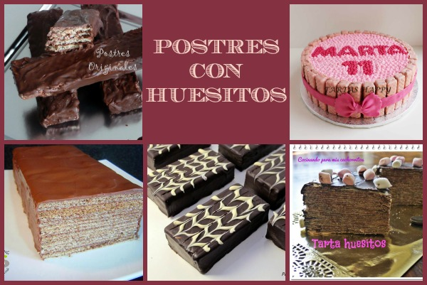 Postres con Huesitos Collage