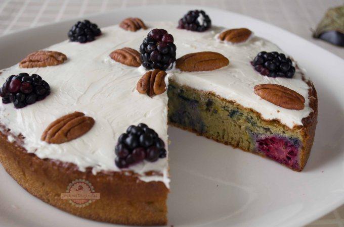 Tarta de Berenjena con Chocolate Blanco