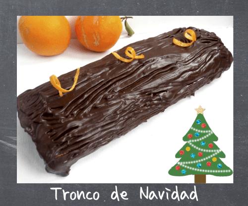 Troncos de Navidad - Tronco de Navidad a la Naranja
