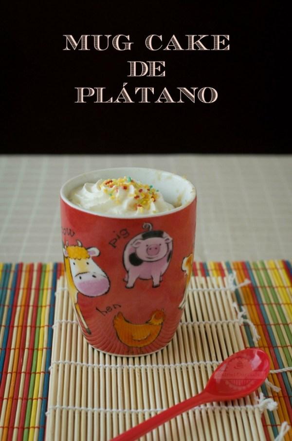 Mug Cake de Plátano 10